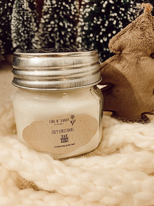 Cozy Christmas 8 oz Soy Candle