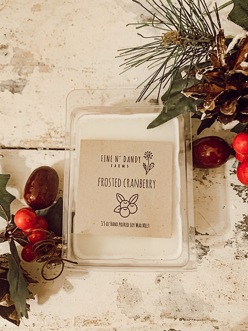 Frosted Cranberry 3.5 oz Soy Wax Melt