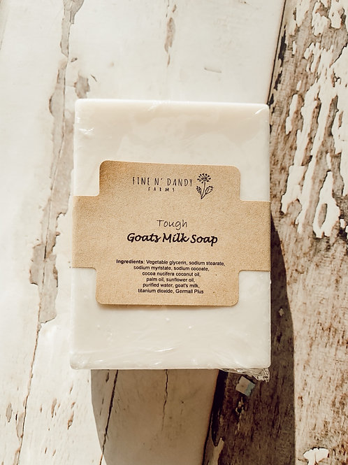Tough Goats Milk Soap