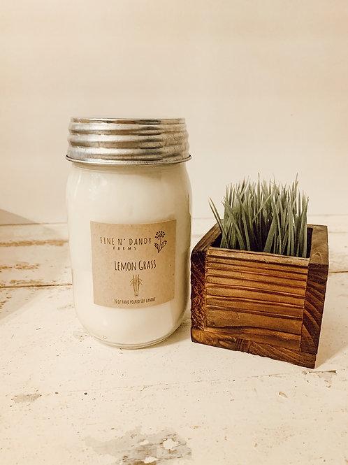 Lemon Grass 16oz Soy candle