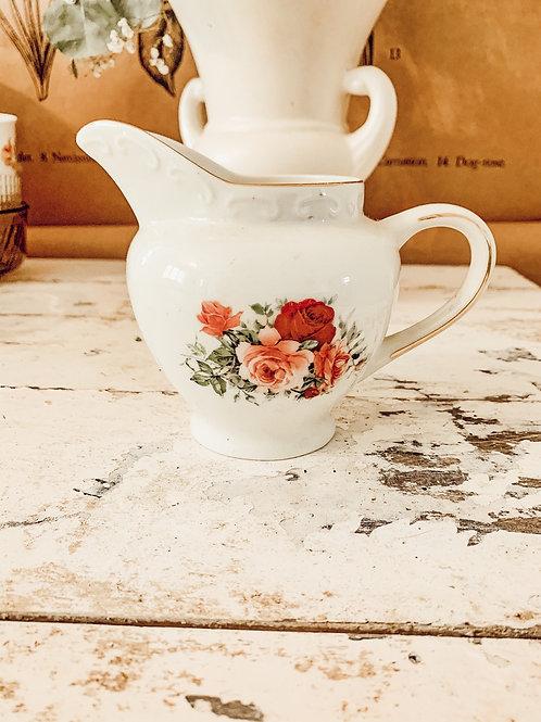13oz White Flower Pourer