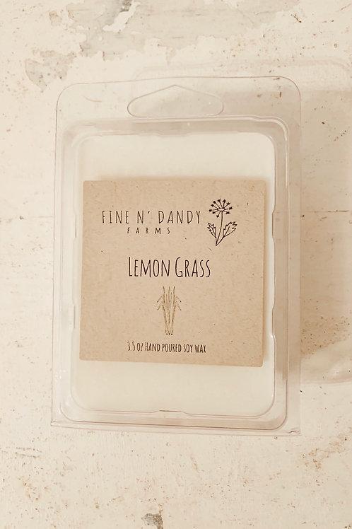 Lemon Grass 3.5oz Soy Wax Melt