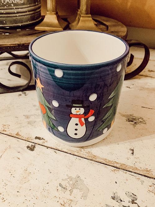 Snowman Jar 36oz