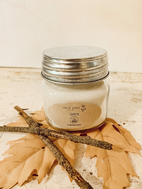 Campfire 8 oz Soy Candle
