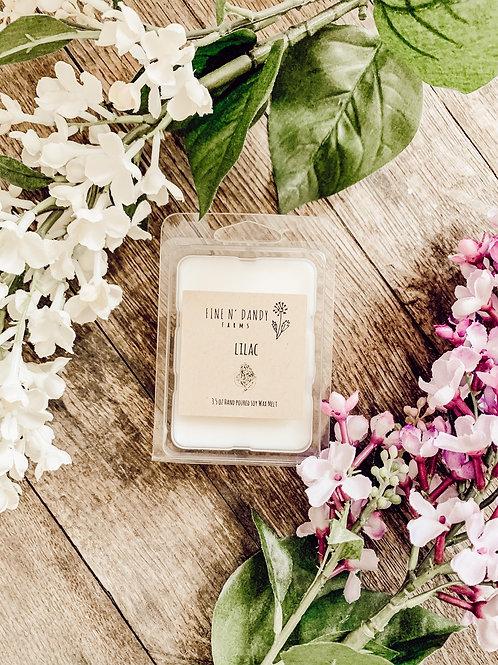 3.5 oz Lilac Soy Wax Melt