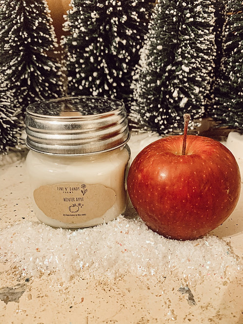 Winter Apple 8 oz Soy candle