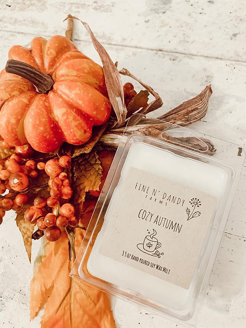 Cozy Autumn 3.5 oz Soy Wax Melt