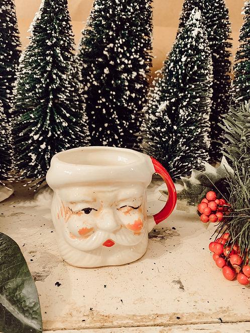 Antique Santa Mug #3 10 oz