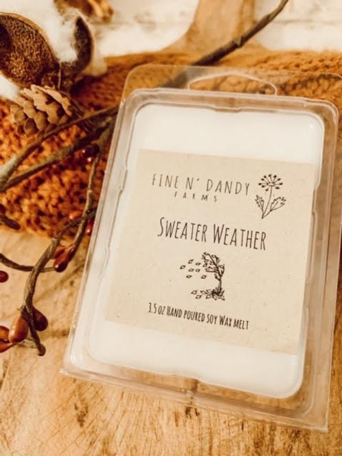 Sweater Weather 3.5 Soy Wax Melt