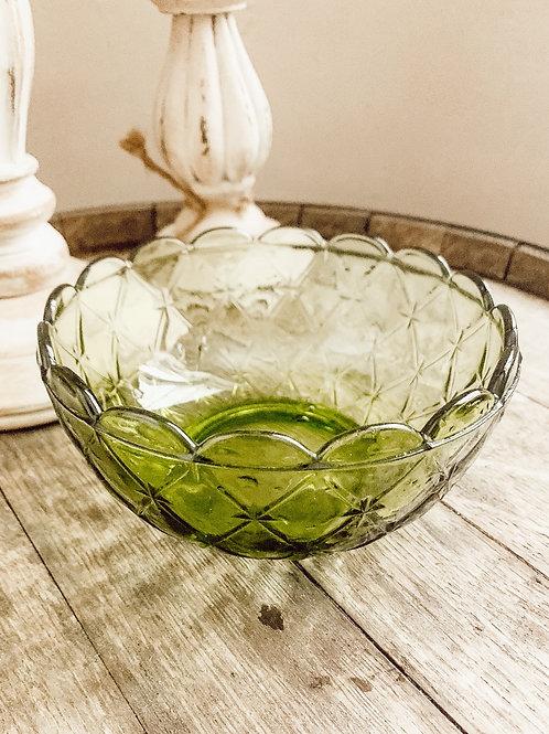 16 oz Green Antique Bowl