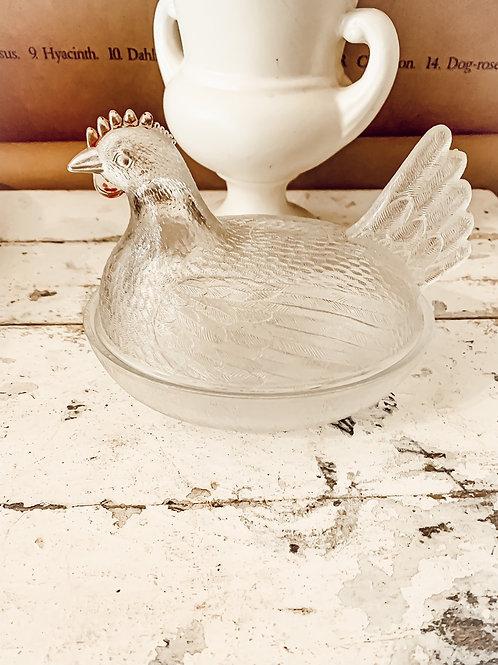 12oz Clear Chicken  Bowl