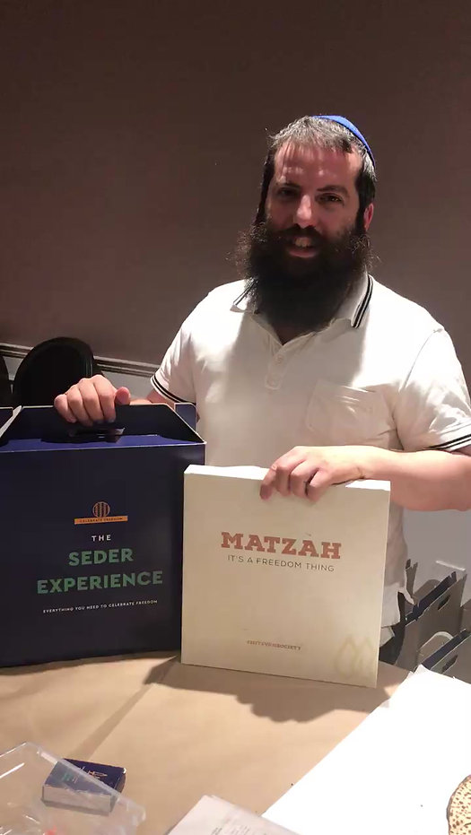 Rabbi Leibele Pesach Greeting