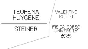 TEOREMA HUYGENS STEINER