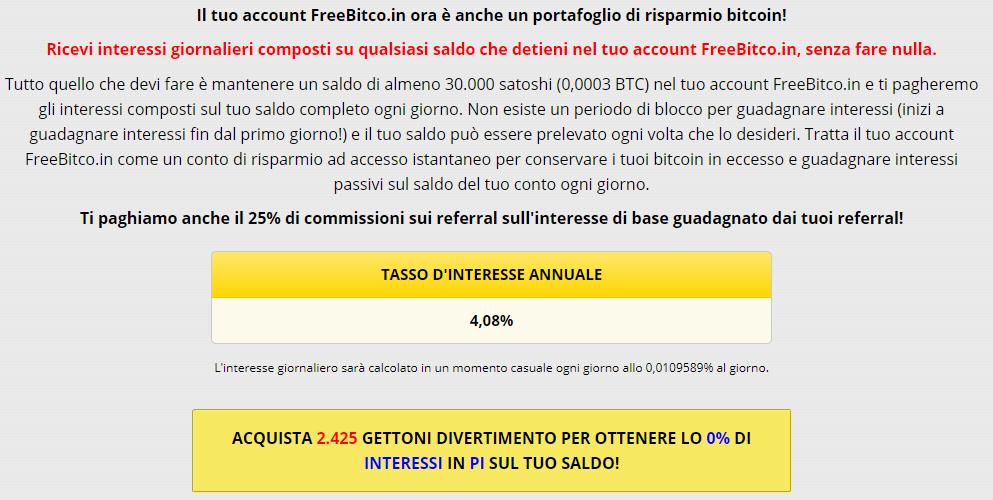 bitcoin gratuito ogni 1 minuto meteo e finanza
