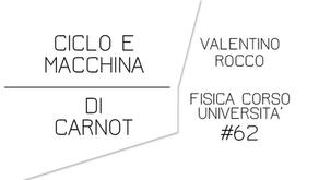 MACCHINA E CICLO DI CARNOT