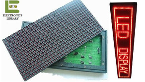 LED Dot Matrix Board, P10