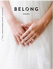 Belong Magazine Weddng Invitation Design