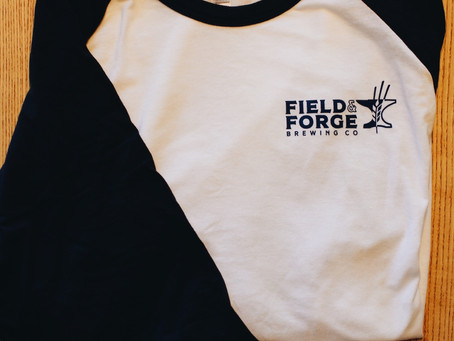 New merch at field and forge!