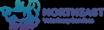 Northeast Vet Services logo horizontal (