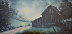 Turquoise Old Barn/Shed Missouri