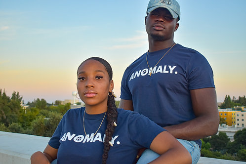 Navy Blue Anomaly T-Shirt