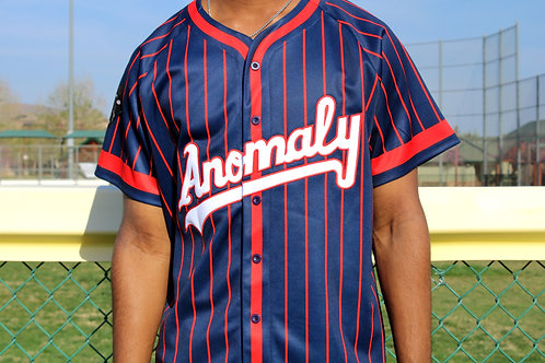 Crimson Anomaly Baseball Jersey