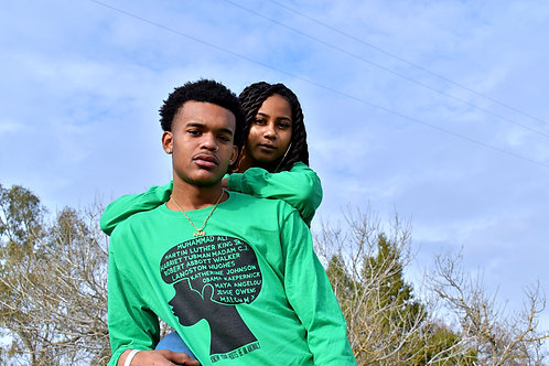 Green BHM Long Sleeves