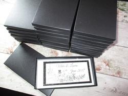 Boxed Chequebook Invitation