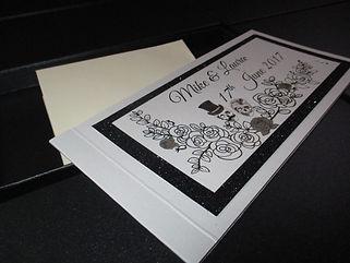 Cheque Book Invitation