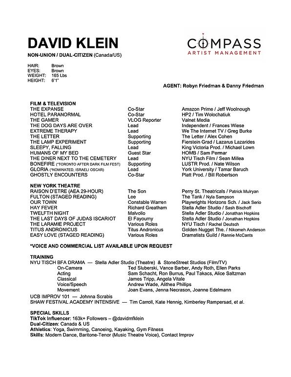 DAVID KLEIN - RESUME.png