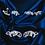 Thumbnail: sterling silver scrollwork stud earrings dainty