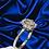 Thumbnail: Lotus Flower 18kt White Gold Ring