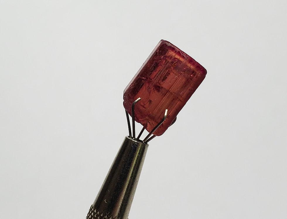 Gemmy Hot Pink Tourmaline. 2.8 Grams.