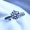 Thumbnail: Timeless 14Kt White Gold Engagement Ring
