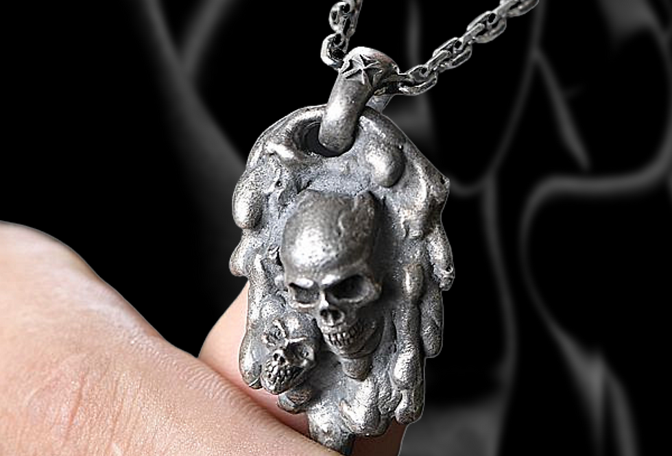 VOID- Sterling Silver Pendant