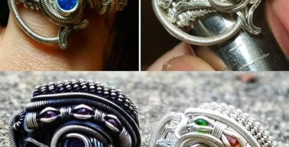 Eye of Horus Ring Tutorial- Digital Download PDF