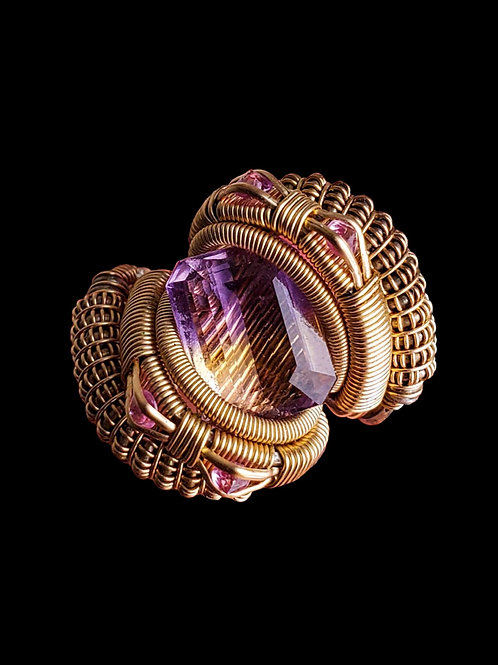 Made to Order Ametrine Ring