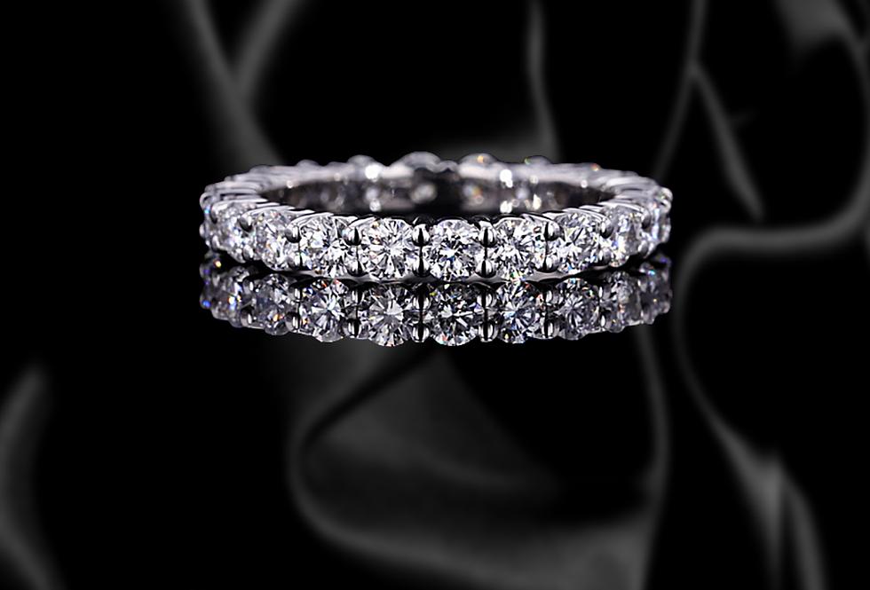 Pave Diamond Engagement Ring Diamond Ring Engagement