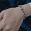 Thumbnail: Womens sterling silver cuban bracelets