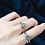 Thumbnail: Enchanted Green Stacked Engagement Set
