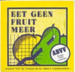 Eet geen fruit meer. Wacht tot ze terug