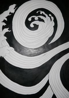 Ink study II (artist unknown)