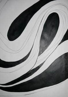 Ink study (artist unknown)