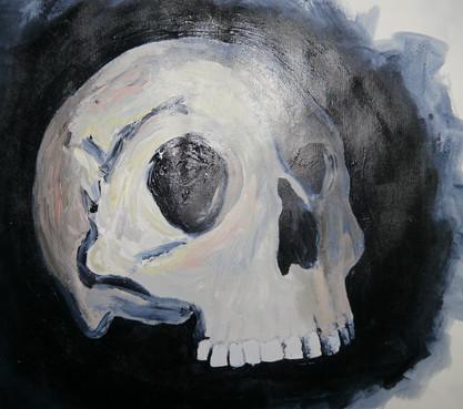 Maggi Hambling Skull Study detail