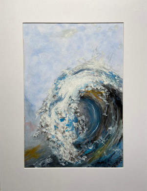 Bold Breaking Waves - Maggi Hambling Stu