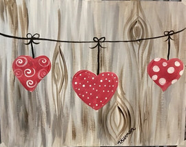 Hearts on String