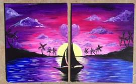 couples' sailboat
