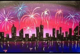 fireworks city