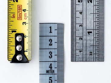 Measures Rulers Metre Size