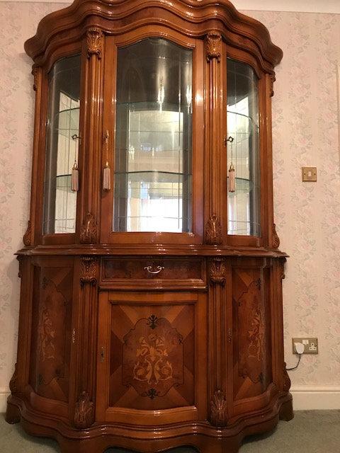 Regina 3 door glass display unit
